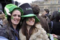 dzień festiwalu London Patrick s st Zdjęcia Royalty Free