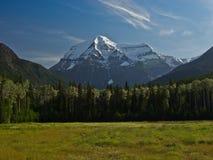 dzień góry robson lato obraz stock