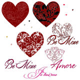 dzień grafika s valentine zdjęcia royalty free