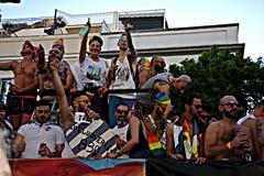 29 dzień homoseksualna marszu duma Zdjęcia Royalty Free