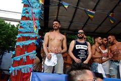 30 dzień homoseksualna marszu duma Obraz Stock