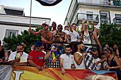 34 dzień homoseksualna marszu duma Zdjęcia Royalty Free