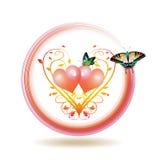 dzień ikony s valentine Zdjęcia Stock