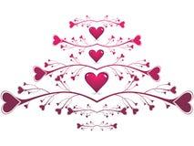 dzień karciani valentines Obrazy Royalty Free