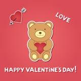 dzień karciany valentine s Obrazy Royalty Free