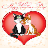 dzień karciany valentine s royalty ilustracja