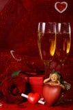 dzień karciany valentine s Zdjęcie Royalty Free
