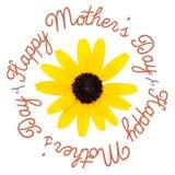 dzień kwiat daje mum syna matkom Obrazy Stock