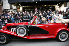 dzień London nowy parady s rok Fotografia Stock