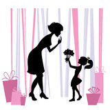 dzień matki Obrazy Stock