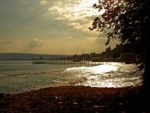 dzień morza sunny fotografia stock
