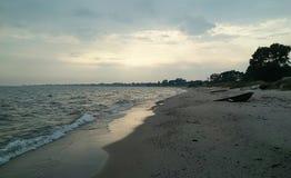 Dzień morzem Obraz Royalty Free