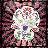 dzień nieżywy czaszki cukieru wektor Zdjęcie Royalty Free