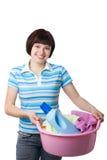 dzień pralni czas Zdjęcia Stock