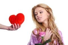 dzień prezenta s valentine Zdjęcie Royalty Free