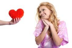 dzień prezenta s valentine Fotografia Stock