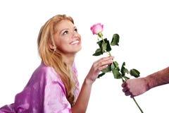 dzień prezenta s valentine Obraz Royalty Free