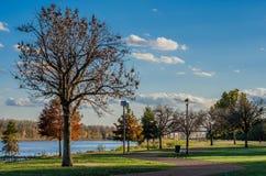 Dzień przy parkiem Zdjęcie Royalty Free