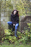 Dzień przy parkiem w jesieni Obraz Stock