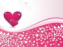 dzień serc romantyczny s valentine Obrazy Royalty Free