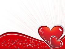 dzień serc romantyczny s valentine Zdjęcia Stock