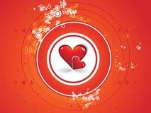 dzień serc romantyczny s valentine Obraz Stock