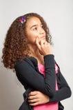 dzień target1384_0_ dziewczyn potomstwa Zdjęcie Stock