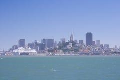 dzień w centrum Francisco San pogodny Obrazy Royalty Free