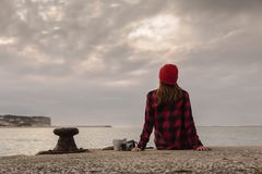 Dzień w jeziorze Zdjęcie Stock