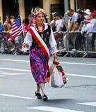 dzień wmarszu parady polaski Obrazy Royalty Free