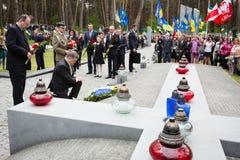 Dzień wspominanie ofiary Polityczna represja Zdjęcia Royalty Free