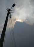 Dzień z szarymi niebami Obraz Royalty Free