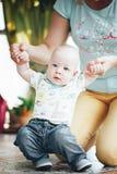 Dziecięca dziecka dziecka chłopiec Sześć miesięcy Starych Fotografia Royalty Free