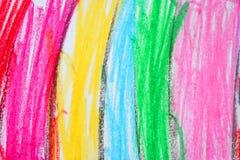 dziecięcy rysujący Fotografia Stock
