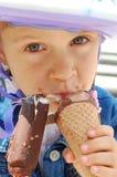 dzieciństwo lody zdjęcie stock