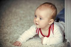 Dzieciństwo, niemowlęctwo, nowonarodzony obrazy stock