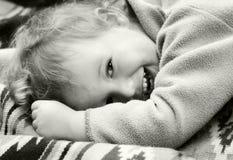 dzieci śmieją roczne Obrazy Royalty Free