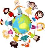 dzieci światowi Zdjęcie Stock