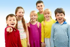 dzieci zdjęcia royalty free