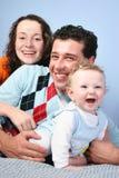 dzieci 3 rodziny. Zdjęcia Royalty Free
