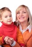 dzieci 4 kobieta middleaged Fotografia Royalty Free