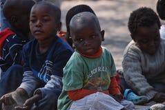 dzieci afryki Obraz Stock