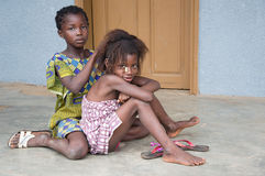 dzieci afryki Obrazy Royalty Free