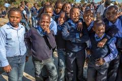 dzieci afryki Fotografia Stock