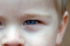 dzieci błękit Fotografia Royalty Free