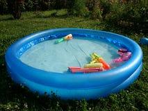 dzieci basenu s dopłynięcie Zdjęcia Royalty Free