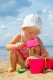 dzieci bawią się piaska zabawka Obrazy Stock