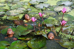dzieci bawią się s Fotografia Royalty Free