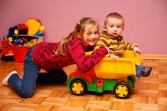 dzieci bawić się Zdjęcia Stock