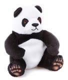 Dzieci bawją się, Miękka miś pluszowy panda Fotografia Royalty Free